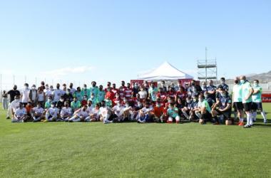 Participantes en el torneo de la Fundación GCF 1931 y el Granada CF Genuine | Foto: GCF