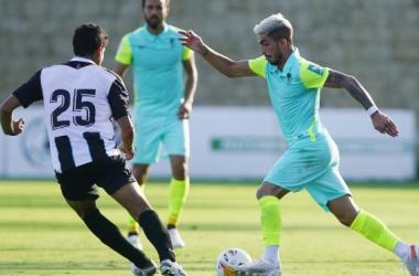 Imagen del último partido de pretemporada ante la Balompédica Linense | Foto: Pepe Villoslada / Granada CF