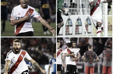 .Boca, San Lorenzo, Racing e Independiente, asa víctimas de Gallardo (Fotomontaje)