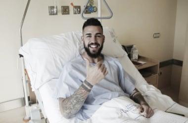 Borja Granero, operado con éxito de su rodilla derecha