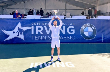 Champion Marcel Granollers raises the ITC trophy/Photo: ITC