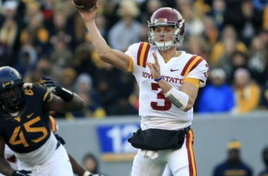 Grant Rohach will lead the Cyclones in 2014 along with fellow quarterback Sam Richardson (Christopher Jackson / AP Photo)