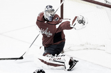 Colorado Avalanche improve goaltending immensely during NHL Draft. | Photo:  A/P/Nick Wass