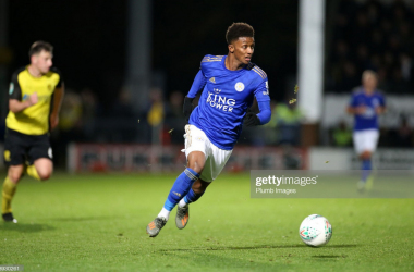 Demarai Gray wants to taste glory with Leicester City this season | Photo: Getty/ Plumb Images