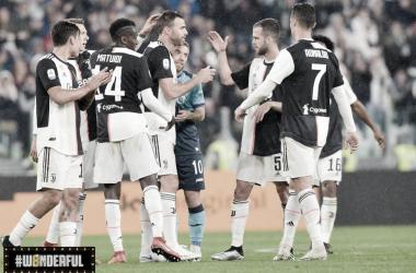 Juventus empata com Atalanta na despedida de Barzagli e Allegri no Allianz Stadium