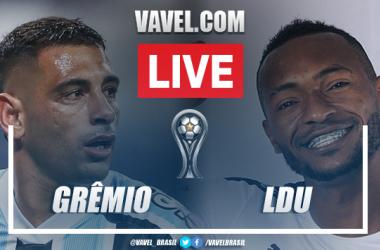 Gols e melhores momentos de Grêmio 1 x 2 LDU pela Copa Sul-Americana