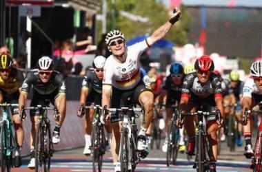 Esta foi a 7ª vitória da carreira do alemão no Giro // Fonte: Eurosport