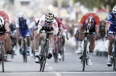 La 'photo-finish' otorgó la victoria a André Greipel | Fotografía: Volta ao Algarve