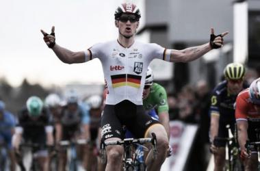 El vencedor de la etapa, André Greipel | Fuente: Tim de Waele