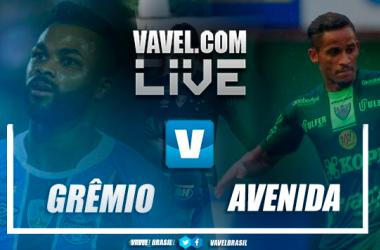 Resultado e gols Grêmio 6x0 Avenida no Campeonato Gaúcho 2019