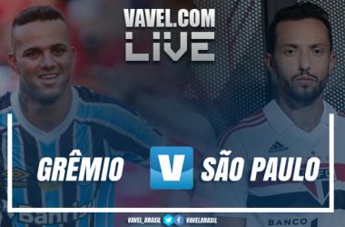 Resultado Grêmio 2 x 1 São Paulo pelo Campeonato Brasileiro