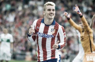Antoine Griezmann é o homem do momento no Atlético de Madrid