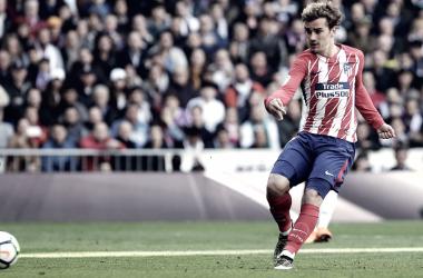 Griezmann iguala el derbi/ Fuente: Atlético de Madrid