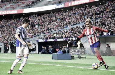 Zubeldia y Griezmann son hombres importantes en sus equipos. Fuente: Getty Images
