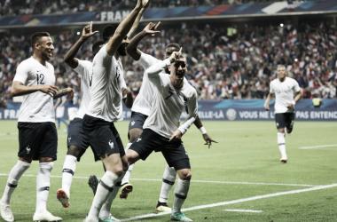 Griezmann foi o autor do segundo gol da França, de pênalti (Foto: Divulgação/Equipe de France)
