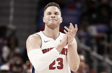 Blake Griffin, aplaudiendo. Foto: Getty Images