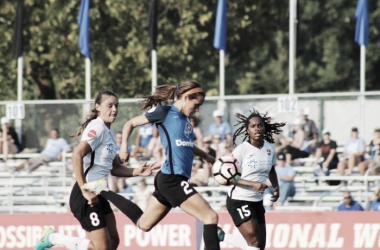 Shea Groom has been voted as the Player of the Week by the NWSL Media Association | Photo: Cindy Lara - VAVEL USA
