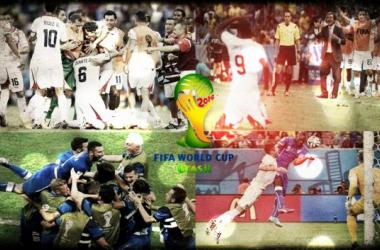 Costa Rica choca Uruguai, Itália bate Inglaterra