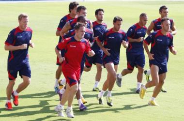 La plantilla del Levante UD se ejercitará en las próximas jornadas en el estadio