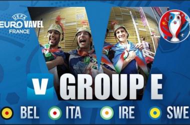 A Bélgica, a Itália e a Irlanda alcançaram os oitavos de final