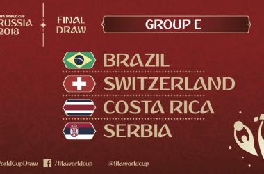 Conheça o Grupo que o Brasil participa na Copa do Mundo FIFA de 2018 (Divulgação/FIFA)
