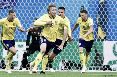 Suecos são a surpresa na Copa depois de saírem líderes do grupo com Alemanha e México (Foto: Divulgação/Svensk Fotboll)