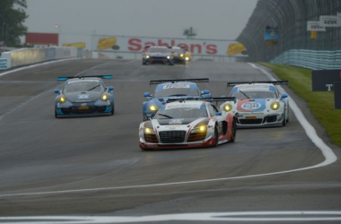 The GT Daytona leaders at the Sahlen's Six Hours of The Glen. Photo: IMSA