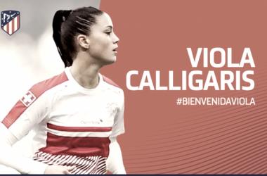 Viola Calligaris, juventud para el mediocentro