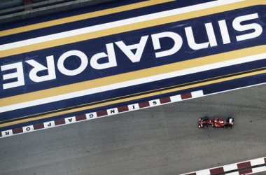 Vettel flew around in his final lap to take pole.