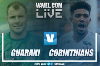 Resultado e gols Guarani 2x1 Corinthians pelo Campeonato Paulista 2019