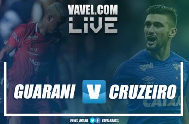 Resultado Guarani 1-3 Cruzeiro pelo Campeonato Mineiro 2019