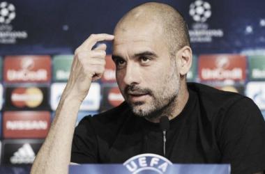 """Guardiola: """"Le doy las gracias a mis jugadores"""""""