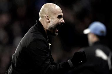 """Guardiola: """"Tenemos que vivir esta presión para ganar la liga"""""""