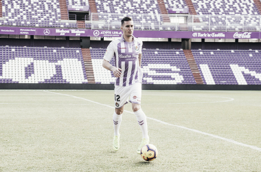 Presentación de Guardiola como nuevo jugador del Real Valladolid | Real Valladolid