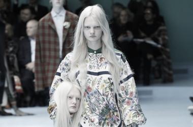 Desfile de Gucci otoño-invierno 2018/19. Fuente: Época Negocios