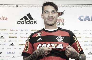 """Guerrero exalta torcida do Flamengo na apresentação: """"É a maior do mundo"""""""