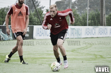 Guidetti está feliz en Vigo