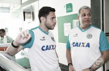 """Guilherme dos Anjos elogia atuação do Goiás contra Coritiba: """"Melhor partida do ano"""""""