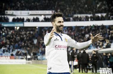 Guitián en su primera etapa como jugador del Real Zaragoza | Foto: Andrea Royo, VAVEL
