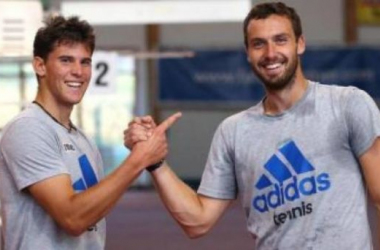 Dominic Thiem and Ernests Gulbis Meet For The Fifth Time/GEPA Pictures