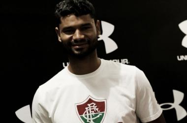 Desde 2009 no Flu, Gum é uma das referências do atual elenco do técnico Abel Braga (Foto: Lucas Merçon/Fluminense)