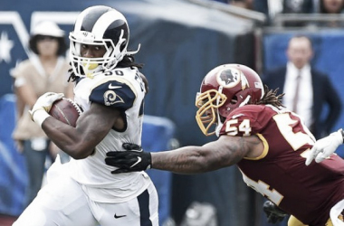 Todd Gurley and the LA Rams take on the San Francisco 49ers. | Photo: USA Today Sports