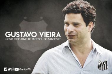 Gustavo Vieira é o novo diretor executivo de futebol do Santos