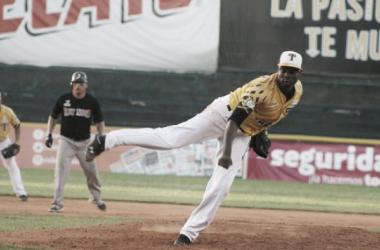 Guzmán 7IP, 5H y 8K. (Foto: Liga Mexicana de Béisbol)