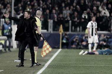 Depois da eliminação na UEFA Champions League, Simeone ressalta a importância de dar o melhor no Campeonato Espanhol (Foto: Ángel Gutiérrez / Atlético de Madrid / Reprodução)