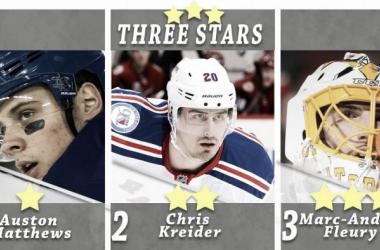 Tres estrellas | NHL.com