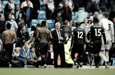 """Hodgson: """"Es difícil ser positivo cuando pierdes 5-0"""""""