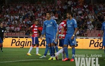 Imagen del último triunfo nazarí ante el Real Madrid. Foto: Antonio L Juárez