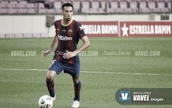 Sergio Busquets, jugador del Barcelona | Foto: Noelia Déniz - VAVEL