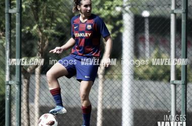 Mariona Caldentey, jugadora del FC Barcelona Femenino. FOTO: IMAGES VAVEL